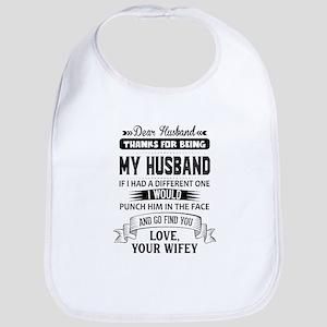 Dear Husband, Love, Your Favorite Baby Bib