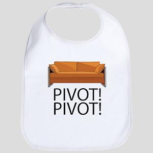 Friends Pivot Cotton Baby Bib