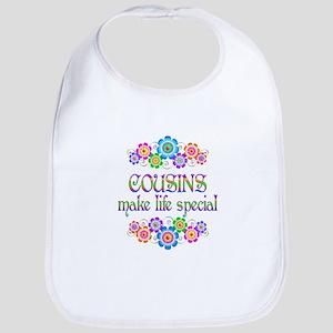 Cousins Make Life Special Cotton Baby Bib