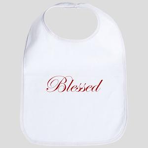 Red Blessed Bib