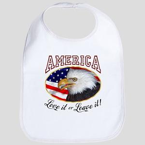 America - Love it or Leave it! Bib