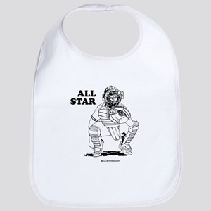 All star catcher Bib