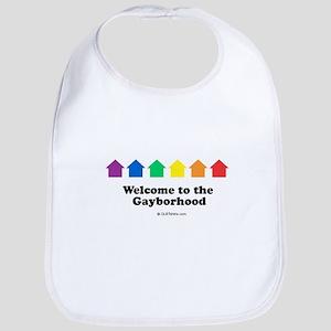 Welcome to the gayborhood Bib
