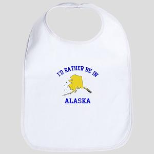 I'd Rather Be in Alaska Bib