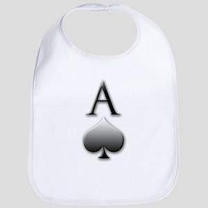 """Ace Of Spades"" Bib"