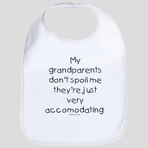 Grandparents Don't Spoil Bib