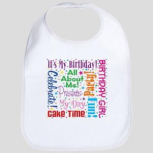 1st Birthday Princess Bib