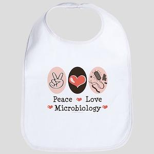 Peace Love Microbiology Bib