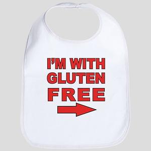 I'm With Gluten-Free Bib