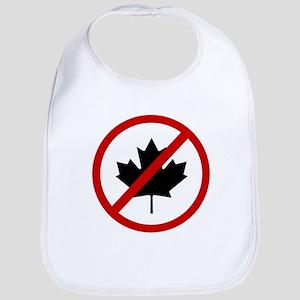 Anti Canadians Bib