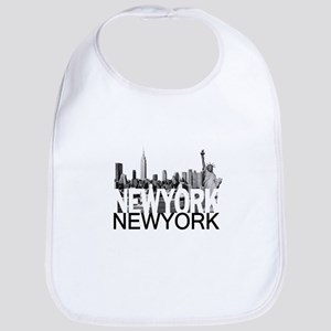 New York Skyline Bib
