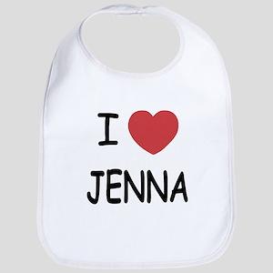 I heart jenna Bib