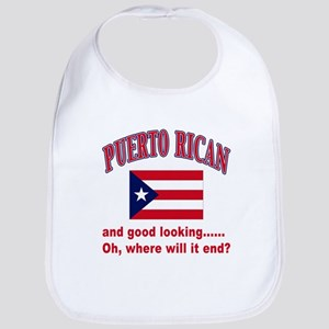 Puerto rican pride Bib