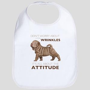 Shar Pei Attitude Bib