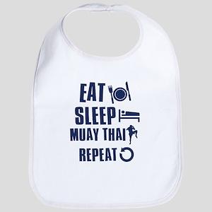 Eat Sleep Muay Thai Bib
