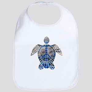 Sea Turtle Peace Bib