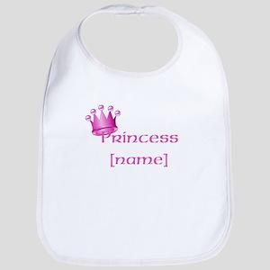 Personlized Princess Bib