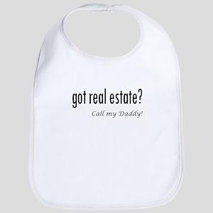 got real estate? Daddy Bib