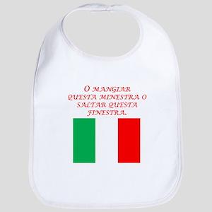 Italian Proverb Eat This Soup Bib