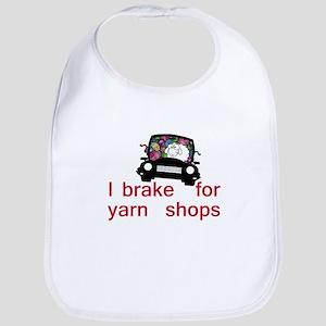 Brake for yarn shops Bib