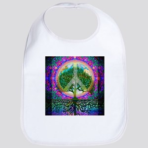 Tree of Life World Peace Bib