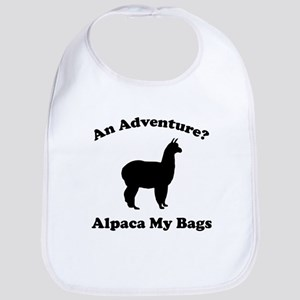 An Adventure? Alpaca My Bags Bib