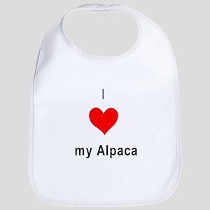 I heart my Alpaca Bib