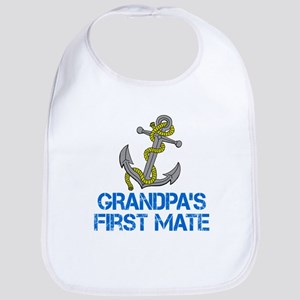 Grandpas First Mate Bib
