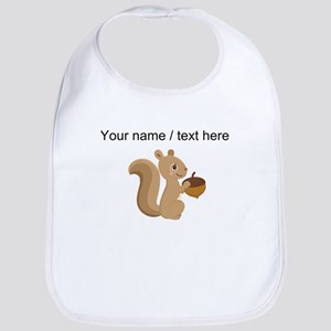 Custom Cartoon Squirrel Bib