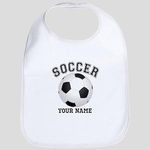 Personalized Name Soccer Bib