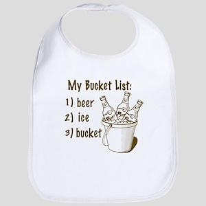 My Beer Bucket List Bib