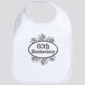 60th Wedding Aniversary (Engraved) Bib