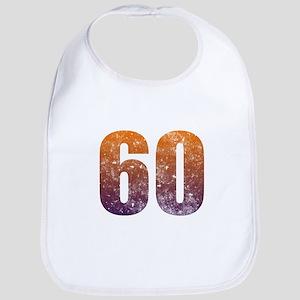 Cool 60th Birthday Bib