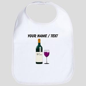 Custom Wine Bottle And Wine Bib