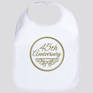 45th Anniversary Bib