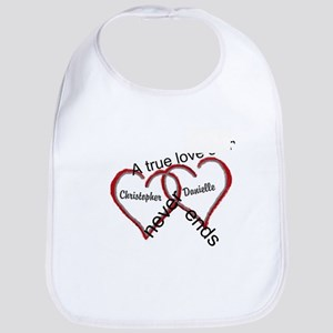 A true love story: personalize Baby Bib