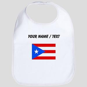Custom Puerto Rico Flag Bib