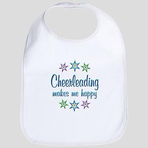 Cheerleading Happy Bib