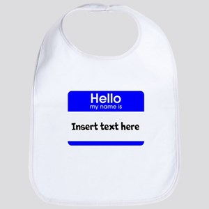 Hello my name is insert Bib