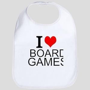 I Love Board Games Bib