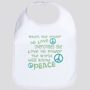 World Peace Bib
