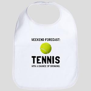 Weekend Forecast Tennis Bib