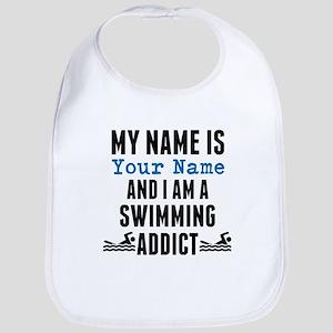 Swimming Addict Bib