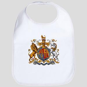 British Royal Coat of Arms Bib
