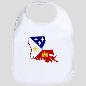 Acadiana State of Louisiana Bib