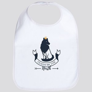 Queen of the North Baby Bib