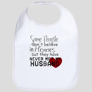 Husband hero Bib