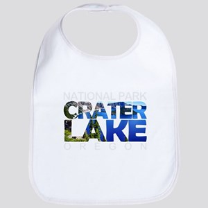 Crater Lake - Oregon Baby Bib