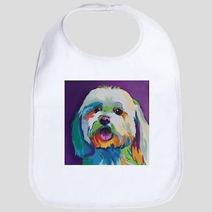 Dash the Pop Art Dog Bib