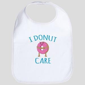 I Donut Care Bib